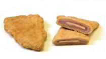 Cooked Viennese pork Cordon Bleu